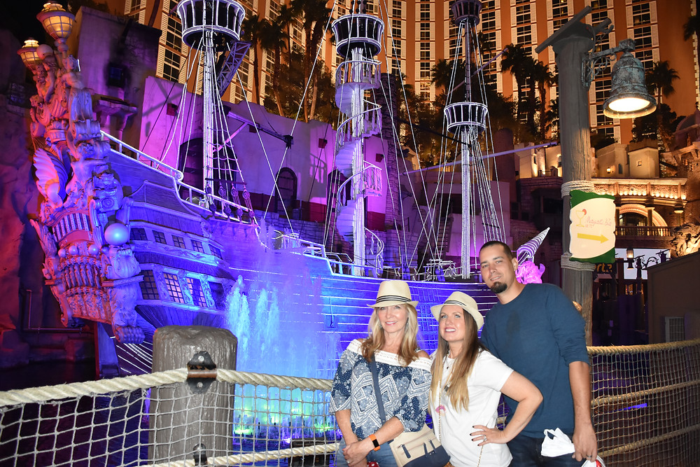 Sirens of Treasure Island in Las Vegas