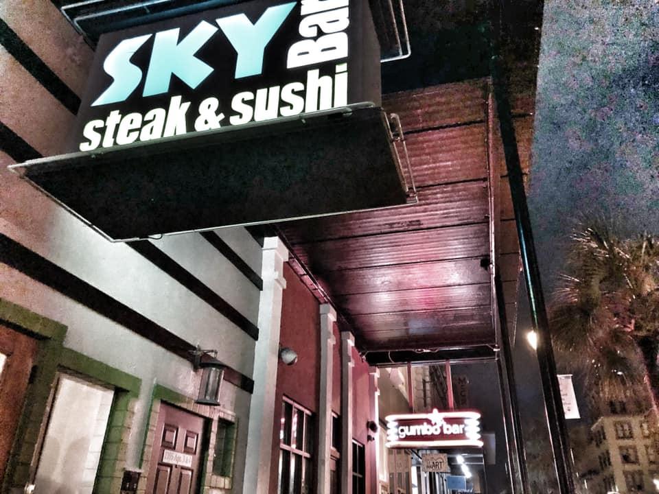 Sky Steak and Sushi Bar in Galveston