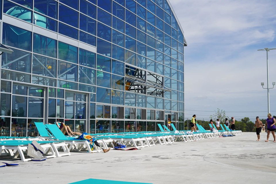 Wave Pool Chairs at Epic Waterpark