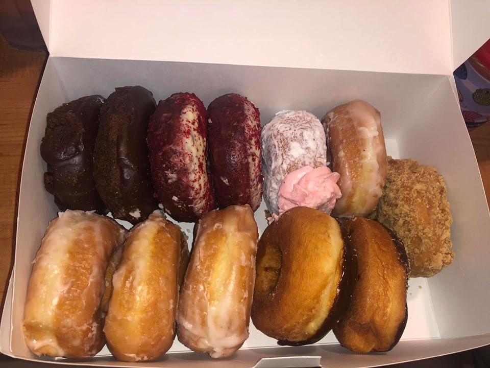 donuts at Donut Hole Bakery Café