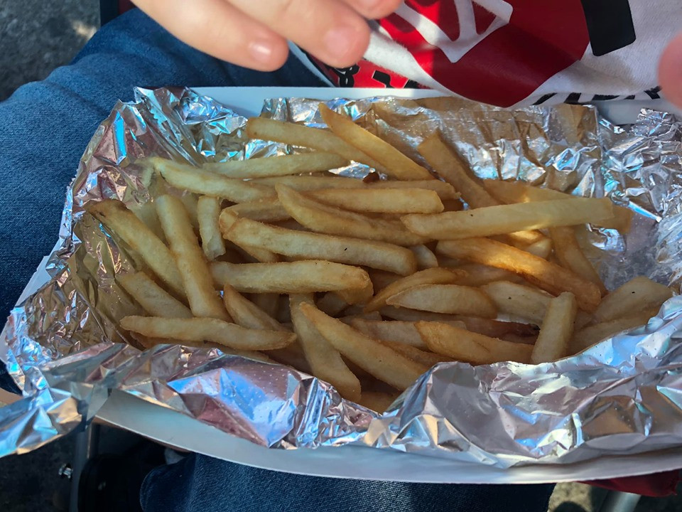 Fries at State Fair of Texas Dallas