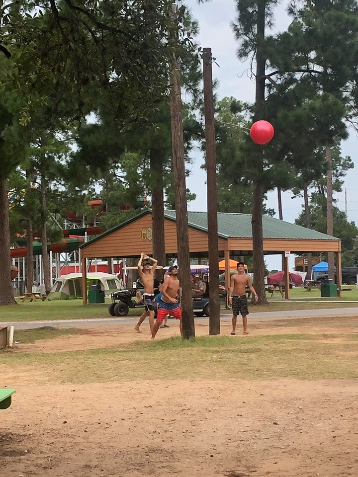 playing at jellystone park