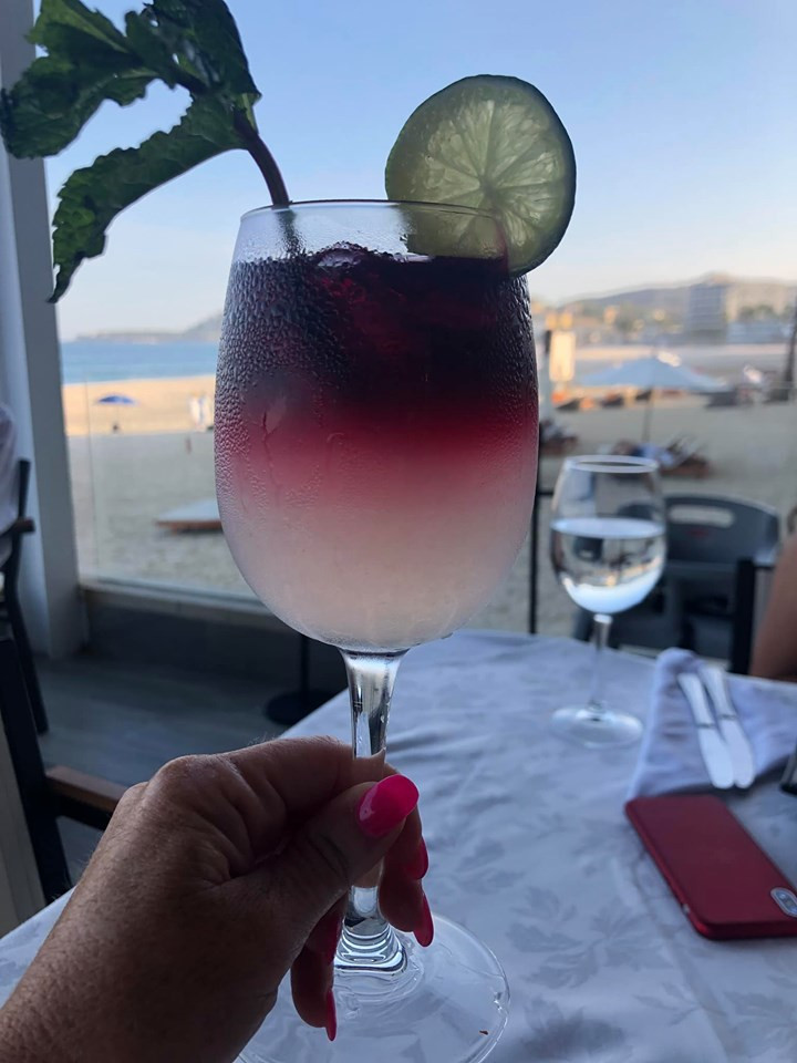 Sangria in Cabo