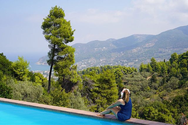 View of Skopelos Island