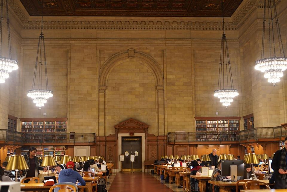 Ghost Busters at New York Public Library