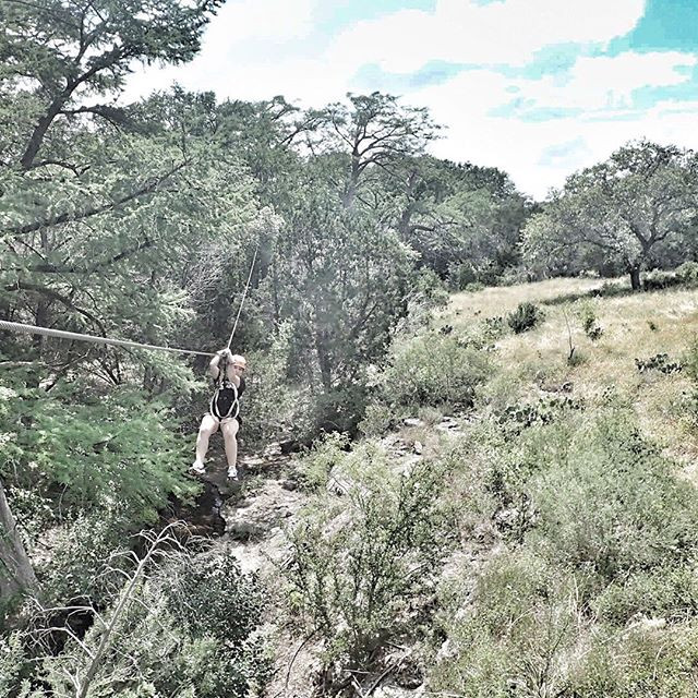 zipline Cypress Valley Canopy Tour in Austin, Texas