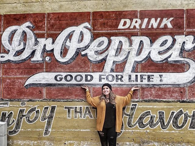 Dr. Pepper Museum Sign