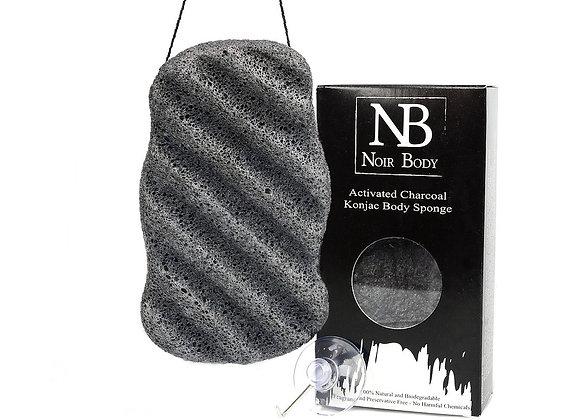 Noir Body Konjac Body Sponge x1