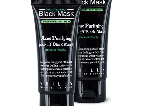 SHILLS Black Mask x 2