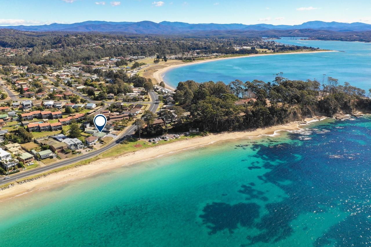 Beachside location