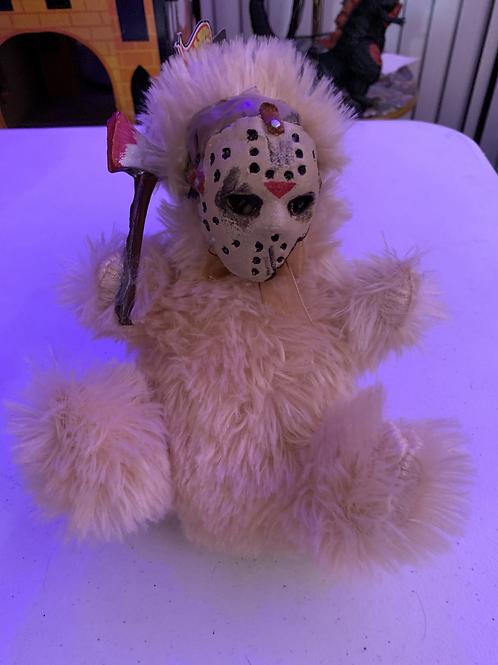 Jason Mini Bear with Removable Mask