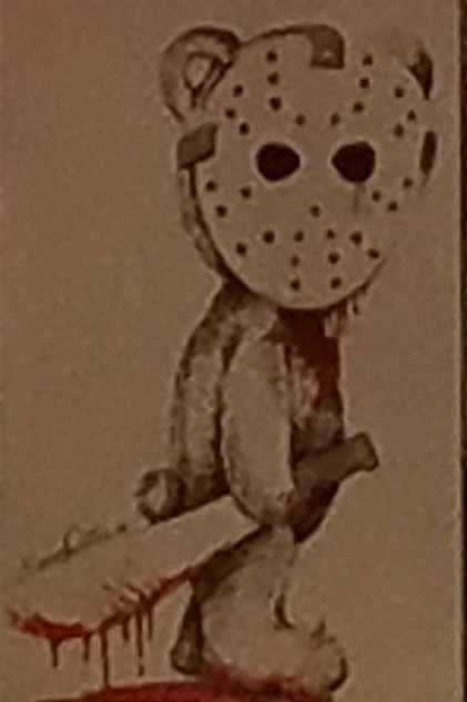 Slasher Bear Print