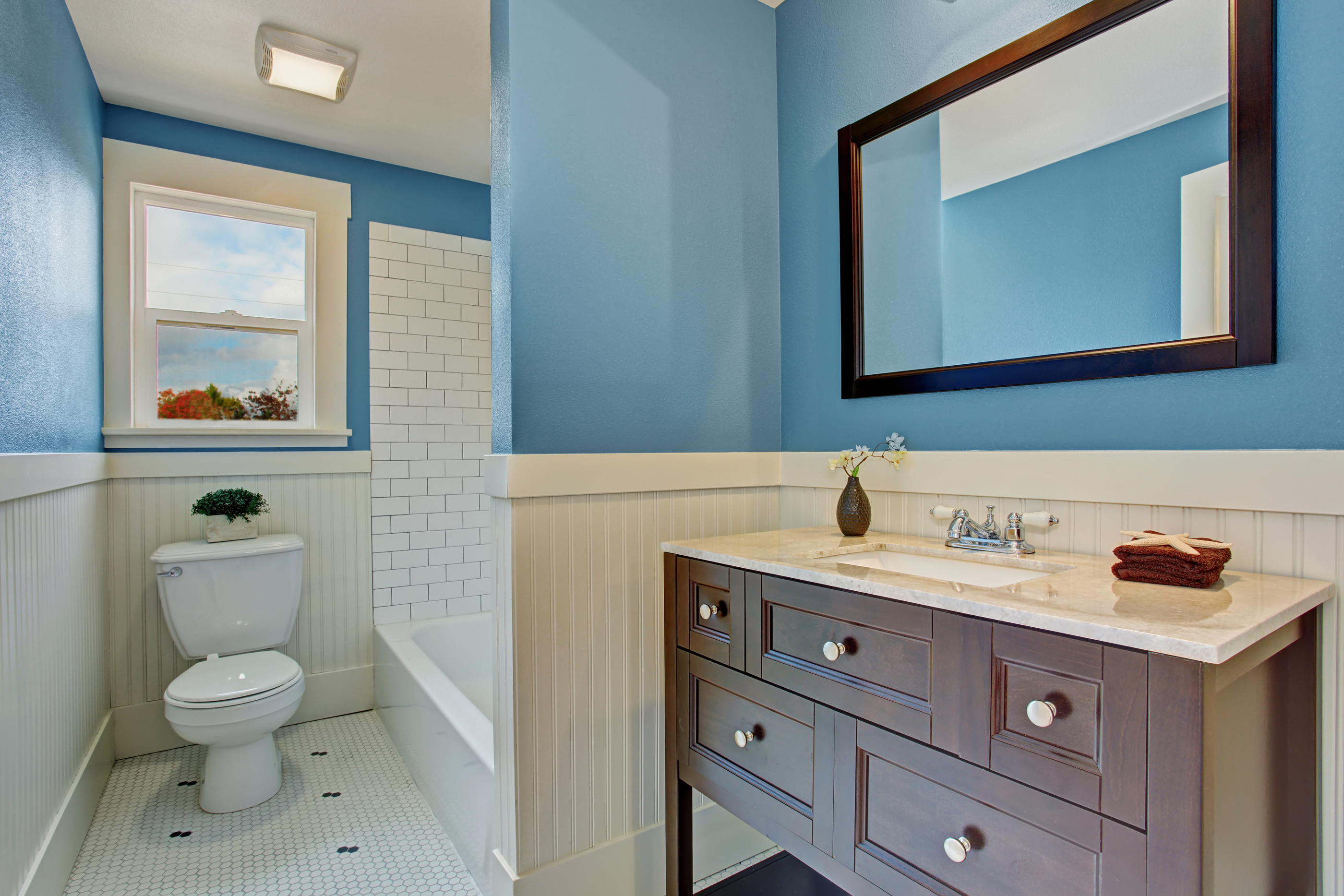Painted Bathroom Deerfield Beach