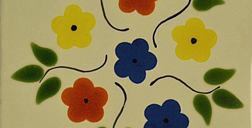 """Ramo de Flores   6""""x6"""""""