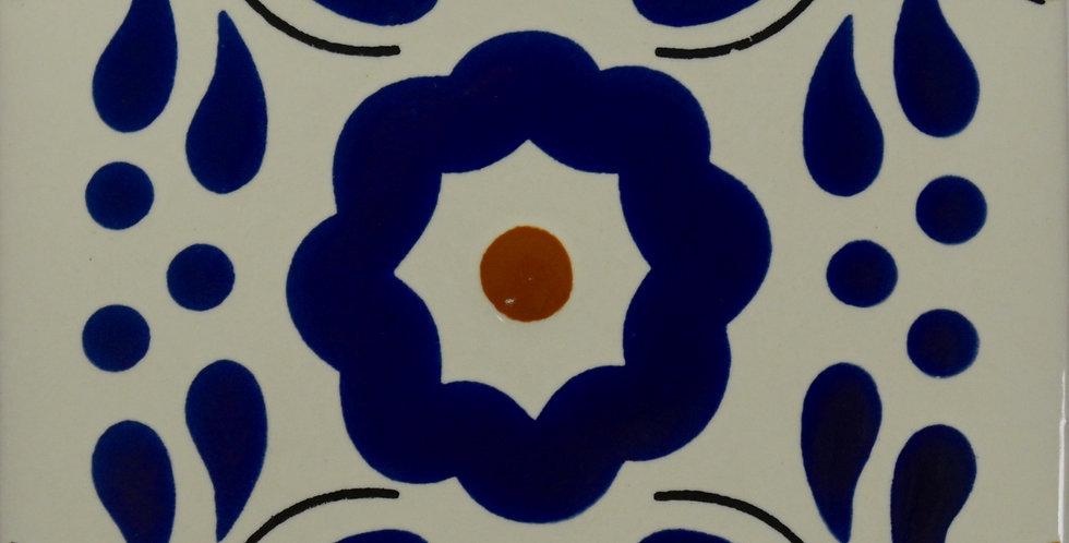 "Primavera Azul   4""x4"""