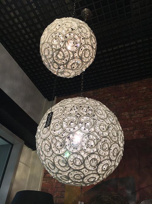 Swirl Ball Chandelier