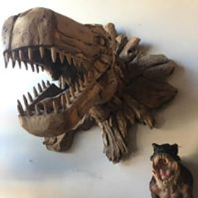 Giant Driftwood Dinosaur (WAS £475)