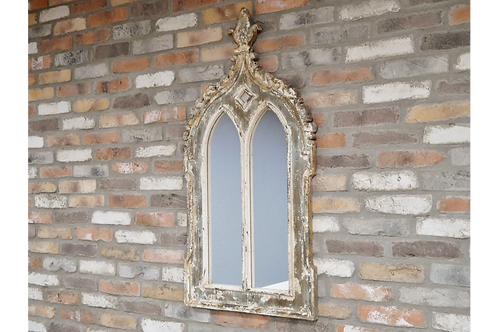 Rustic Arched Mirror