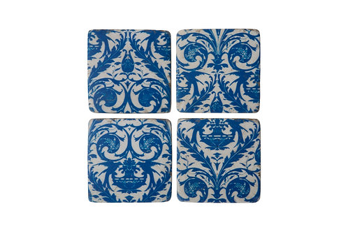 Tile Coasters - sets of 4 - various designs