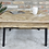 Thumbnail: Parquet wood coffee table