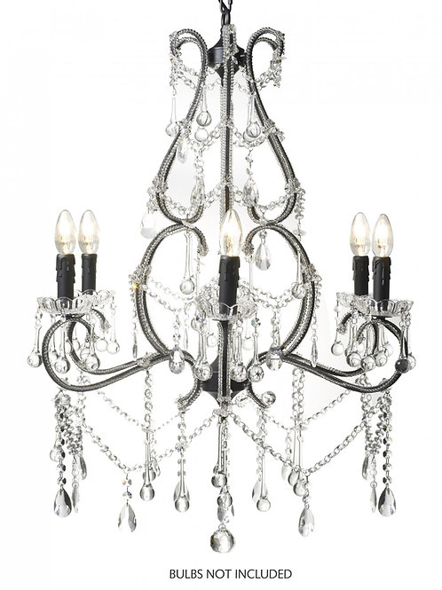 Traditional Glass Chandelier