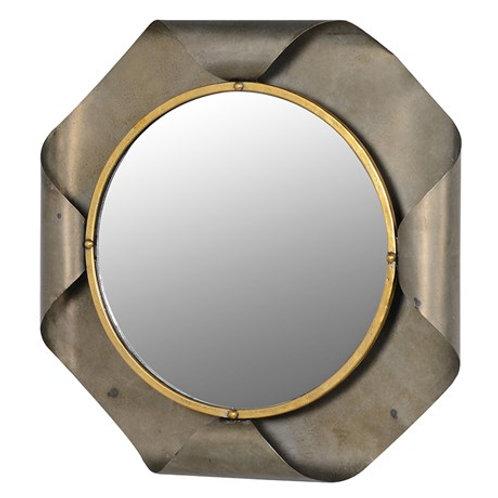 Folded Edge Wall Mirror