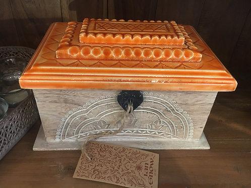Box with Ceramic Lid