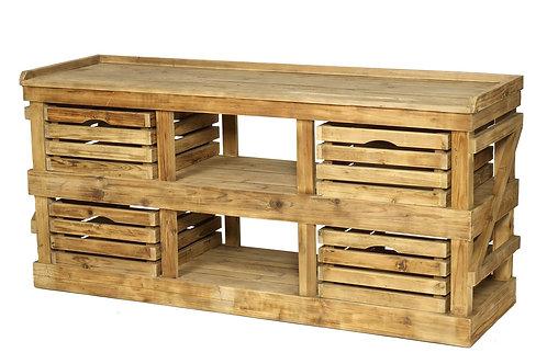 Chunky Rustic Sideboard (RRP £1062.50)