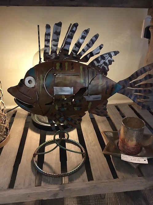 """""""The Fish"""" Sculpture"""