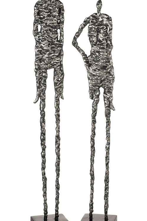 """Skinny"" figurines (pair)"
