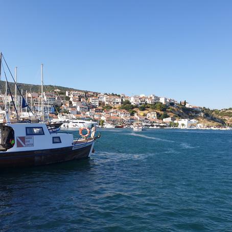 מורידים הילוך! שקט ושלווה - באי הציורי, סאמוס, יוון