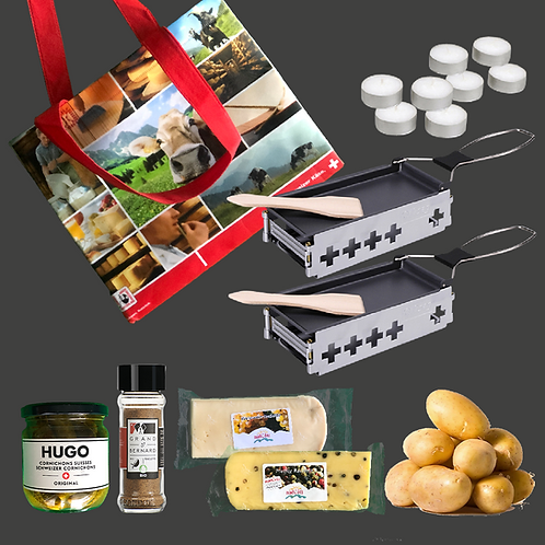 Mobiles Raclette-Set Weisswein & Pfeffer
