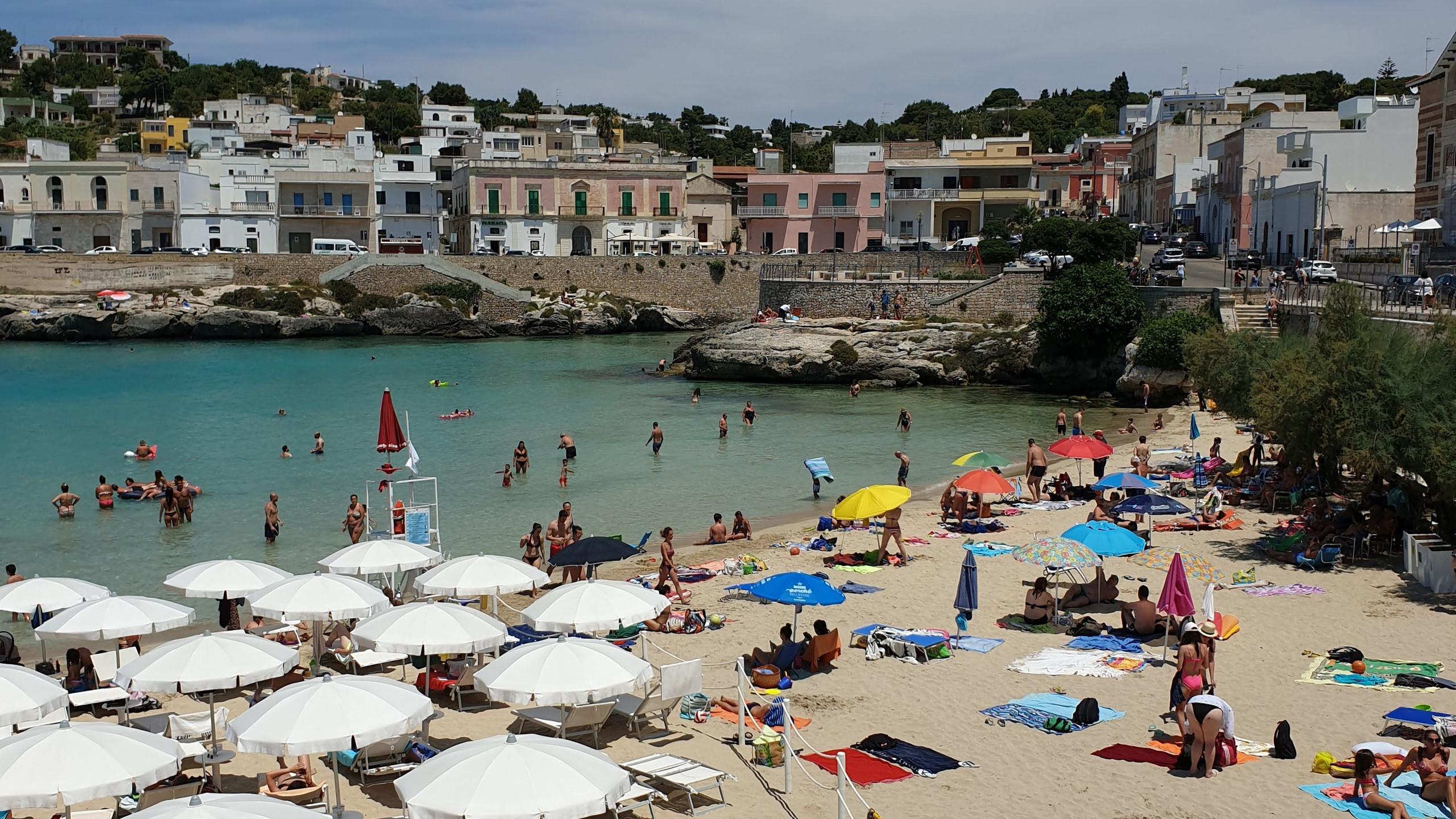 החוף המקסים בנרדו, פוליה, דרום איטליה