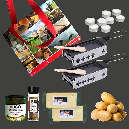 Mobiles Raclette-Set Nature