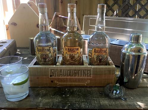 3 Bottle Display