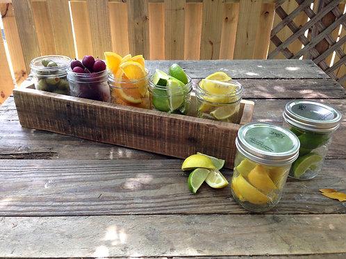 5 Jar Fruit Tray Box