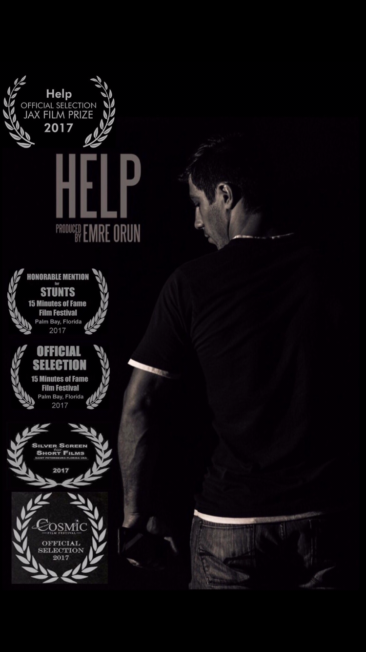 Help Official Poster with Festival Laurels