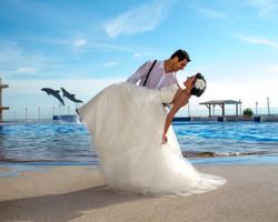 Bridal Shoot at Marineland