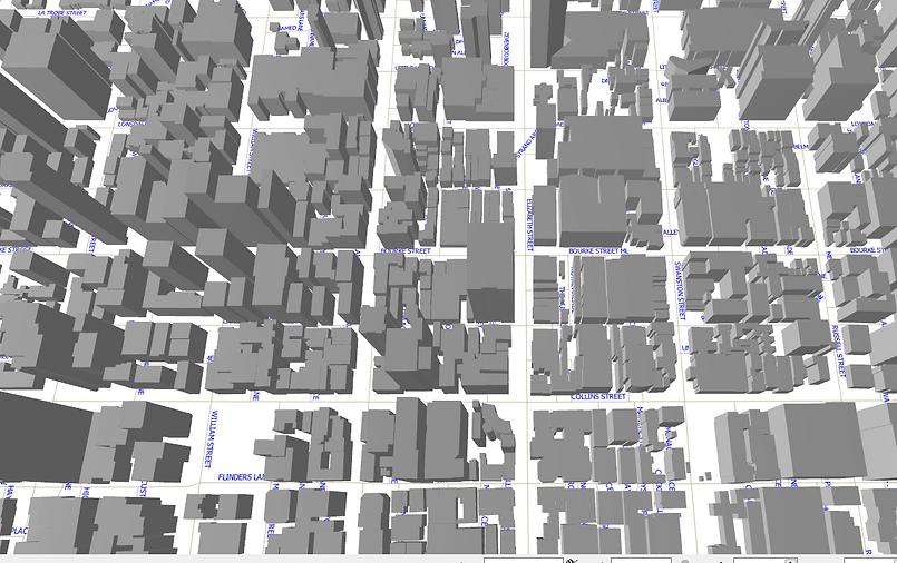 3D Geoscape Building Polygons