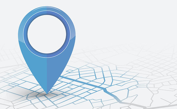 Location pointer on map