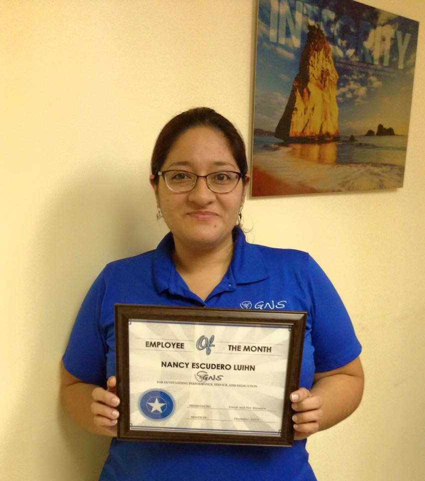December 2015 Employee of the Month