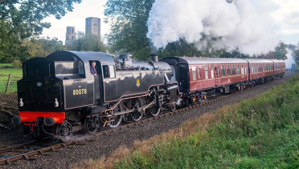 80078 Test Train Wymondham Abbey 2020 -