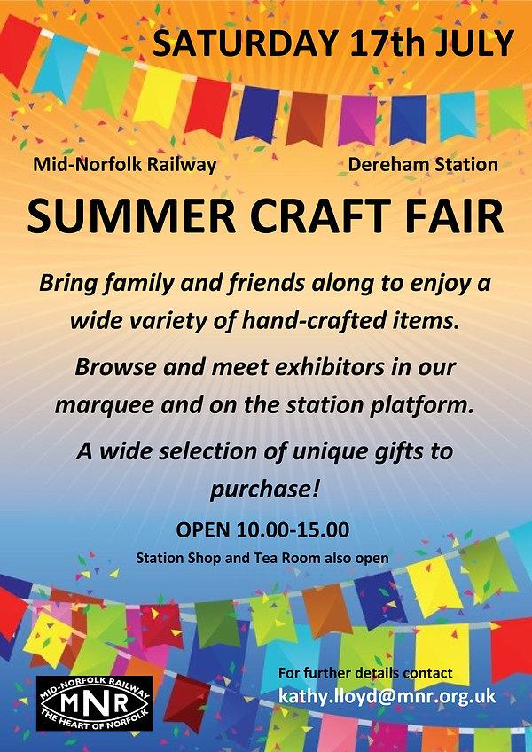 MNR Summer Craft Fair