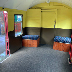 Disabled coach accommodation