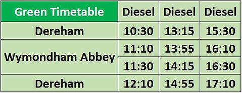 Green Timetable.JPG