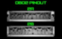 OBD2A and OBD2B Pinouts