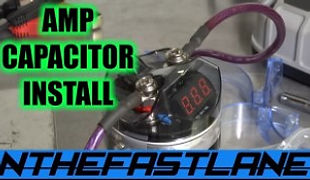 Amplifier Capacitor Installation How To.