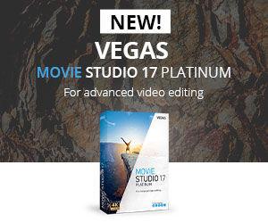 Sony Vegas Movie Studio 17 Mobile Square