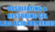 DESULFATING & RESTORING GEL LEAD ACID BA