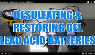 DESULFATING & RESTORING GEL LEAD ACID BA